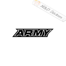 2x US Army Vinyl Decal Sticker Different colors & size for Cars/Bikes/Windows