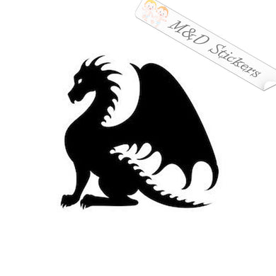 XL (extra large) Dragon Vinyl Decal Sticker Different colors & size for Cars/Bikes/Windows