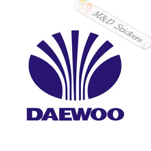 2x Daewoo Logo Vinyl Decal Sticker Different colors & size for Cars/Bikes/Windows