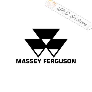 2x Massey Ferguson Tractors Logo Vinyl Decal Sticker Different colors & size for Cars/Bikes/Windows