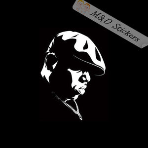 2x The Notorious B.I.G Vinyl Decal Sticker Different colors & size for Cars/Bikes/Windows