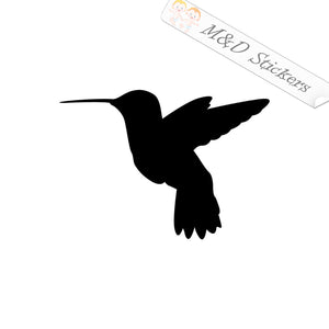 2x Hummingbird Vinyl Decal Sticker Different colors & size for Cars/Bikes/Windows