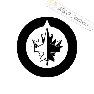 2x Winnipeg Jets Vinyl Decal Sticker Different colors & size for Cars/Bikes/Windows