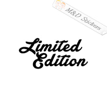 2x Limited Edition Vinyl Decal Sticker Different colors & size for Cars/Bikes/Windows