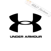 2x Under Armour Logo Vinyl Decal Sticker Different colors & size for Cars/Bikes/Windows