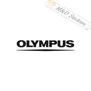 2x Olympus Logo Vinyl Decal Sticker Different colors & size for Cars/Bikes/Windows