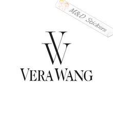 2x Vera Wang Logo Vinyl Decal Sticker Different colors & size for Cars/Bikes/Windows