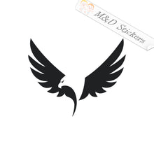 2x Aguila TV Eagle Vinyl Decal Sticker Different colors & size for Cars/Bikes/Windows