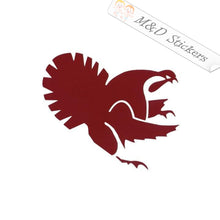 2x Virginia Tech Hokies Vinyl Decal Sticker Different colors & size for Cars/Bikes/Windows