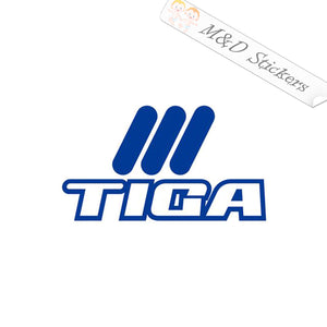 2x Samurai Tiga Darts Logo Vinyl Decal Sticker Different colors & size for Cars/Bikes/Windows