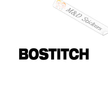 2x Bostitch Logo Vinyl Decal Sticker Different colors & size for Cars/Bikes/Windows