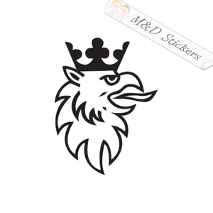2x Saab Griffin Vinyl Decal Sticker Different colors & size for Cars/Bikes/Windows