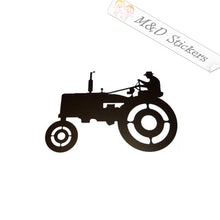 2x Farm Tractor Vinyl Decal Sticker Different colors & size for Cars/Bikes/Windows