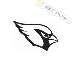 2x Arizona Cardinals Vinyl Decal Sticker Different colors & size for Cars/Bikes/Windows