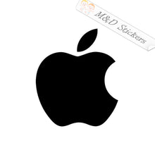 2x Apple Logo Vinyl Decal Sticker Different colors & size for Cars/Bikes/Windows