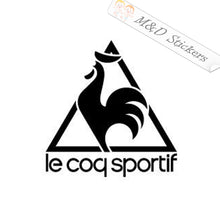2x Le coq sportif Logo Vinyl Decal Sticker Different colors & size for Cars/Bikes/Windows