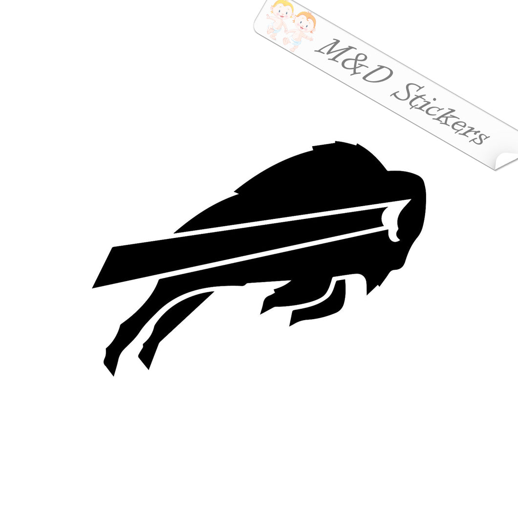 2x Buffalo Bills Vinyl Decal Sticker Different colors & size for Cars/Bikes/Windows