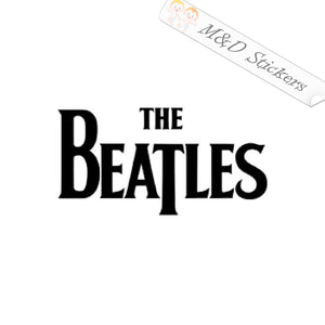 2x The Beatles Logo Vinyl Decal Sticker Different colors & size for Cars/Bike