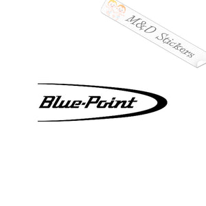 2x Blue Point by Snap-on Tools Logo Vinyl Decal Sticker Different colors & size for Cars/Bikes/Windows
