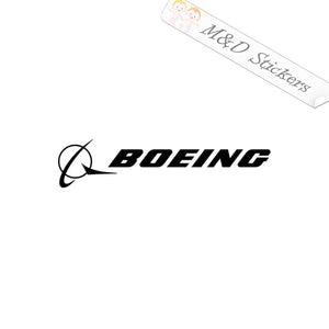 2x Boeing Logo Vinyl Decal Sticker Different colors & size for Cars/Bikes/Windows