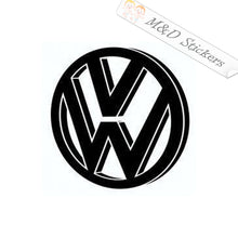 2x Volkswagen Logo Vinyl Decal Sticker Different colors & size for Cars/Bikes/Windows