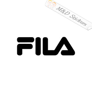 2x FILA Logo Vinyl Decal Sticker Different colors & size for Cars/Bikes/Windows