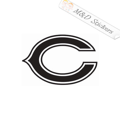 2x Chicago Bears Vinyl Decal Sticker Different colors & size for Cars/Bikes/Windows