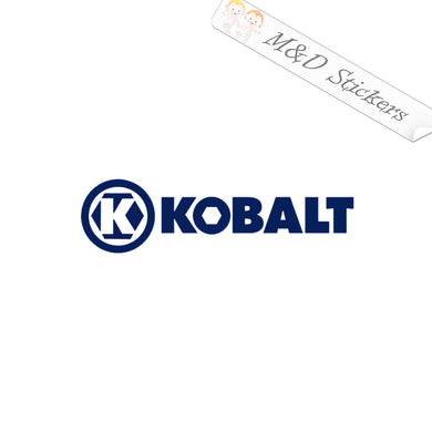 2x Kobalt Logo Vinyl Decal Sticker Different colors & size for Cars/Bikes/Windows