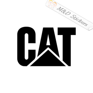 2x Caterpillar Logo Vinyl Decal Sticker Different colors & size for Cars/Bikes/Windows