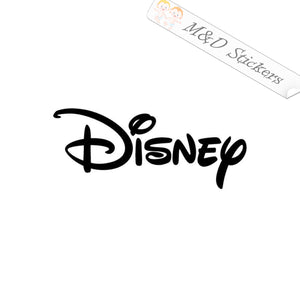 2x Disney Logo Vinyl Decal Sticker Different colors & size for Cars/Bikes/Windows