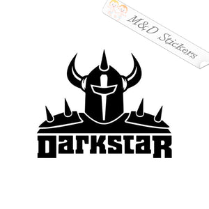2x Darkstar skateboards Logo Vinyl Decal Sticker Different colors & size for Cars/Bikes/Windows