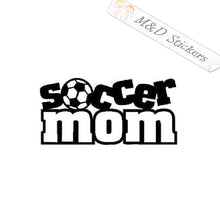 2x Soccer mom Vinyl Decal Sticker Different colors & size for Cars/Bikes/Windows