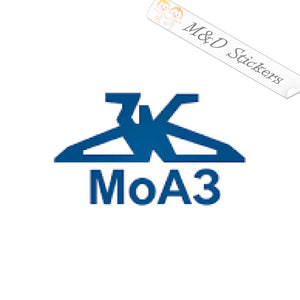 2x MoAZ (Mogilev Automobile Plant) Logo Vinyl Decal Sticker Different colors & size for Cars/Bikes/Windows