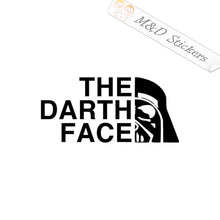 2x The Darth Face funny Logo Vinyl Decal Sticker Different colors & size for Cars/Bikes/Windows