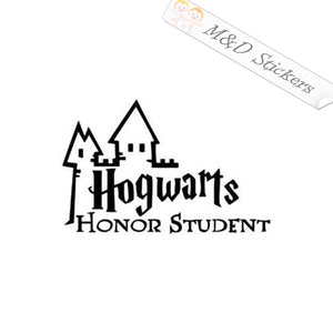 2x Hogwarts Honor Student Harry Potter Vinyl Decal Sticker Different colors & size for Cars/Bikes/Windows