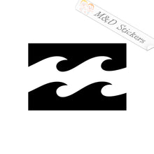 2x Billabong Logo Vinyl Decal Sticker Different colors & size for Cars/Bikes/Windows