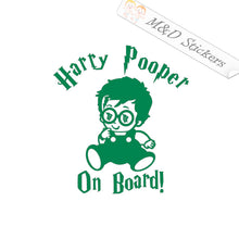 2x Little Harry Baby on board Vinyl Decal Sticker Different colors & size for Cars/Bikes/Windows