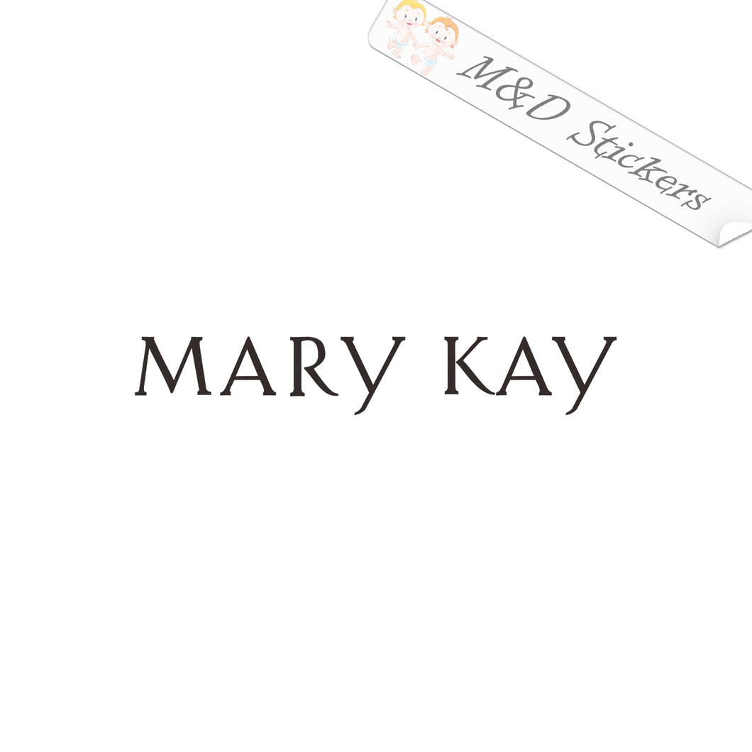 2x Mary Kay Logo Vinyl Decal Sticker Different colors & size for Cars/Bikes/Windows