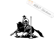 2x Pole Bender Vinyl Decal Sticker Different colors & size for Cars/Bikes/Windows