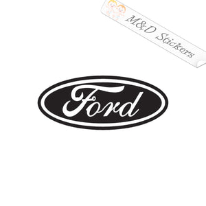 2x Ford Logo Vinyl Decal Sticker Different colors & size for Cars/Bikes/Windows
