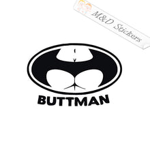2x Funny Buttman Vinyl Decal Sticker Different colors & size for Cars/Bikes/Windows