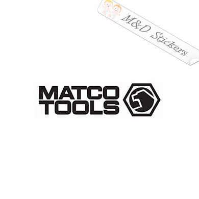 2x Matco Tools Logo Vinyl Decal Sticker Different colors & size for Cars/Bikes/Windows