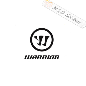 2x Warrior Logo Vinyl Decal Sticker Different colors & size for Cars/Bikes/Windows