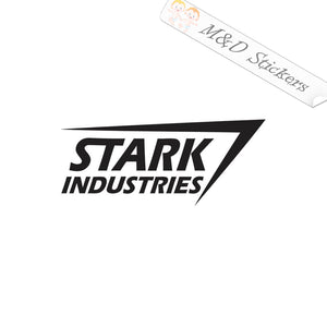 2x Stark industries Vinyl Decal Sticker Different colors & size for Cars/Bikes/Windows