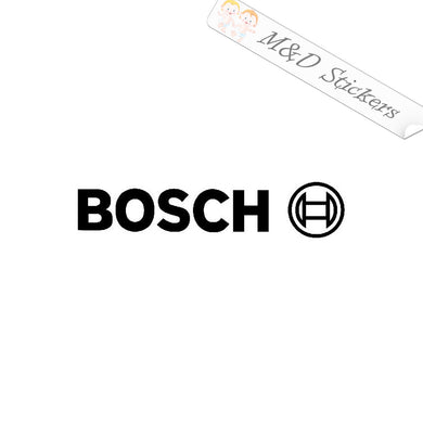2x Bosch Logo Vinyl Decal Sticker Different colors & size for Cars/Bikes/Windows
