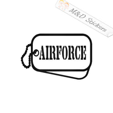 2x US Air Force Vinyl Decal Sticker Different colors & size for Cars/Bikes/Windows