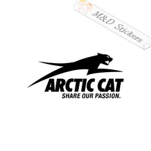 2x Arctic Cat Logo Vinyl Decal Sticker Different colors & size for Cars/Bikes/Windows