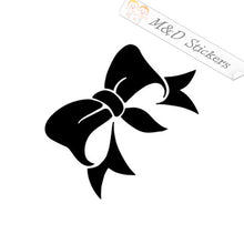 2x Bow Vinyl Decal Sticker Different colors & size for Cars/Bikes/Windows