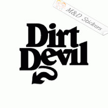 2x Dirt Devil Tools Logo Vinyl Decal Sticker Different colors & size for Cars/Bikes/Windows
