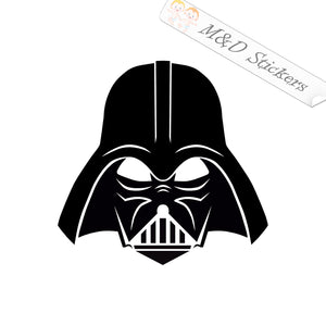 2x Darth Vader Vinyl Decal Sticker Different colors & size for Cars/Bikes/Windows